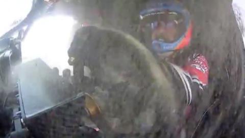 Accidente de Alonso en la Etapa 10 del Dakar