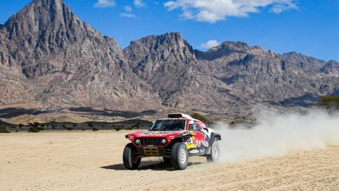 Carlos Sainz en la Etapa 3 del Dakar