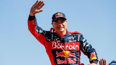 Carlos Sainz ganador del Dakar 2020