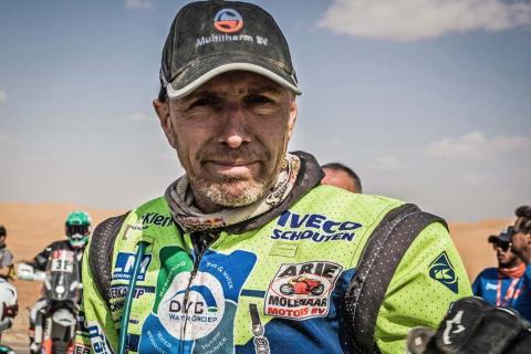 Edwin Straver, en el Dakar 2020