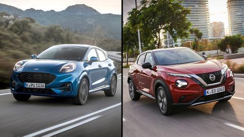 Ford Puma vs Nissan Juke