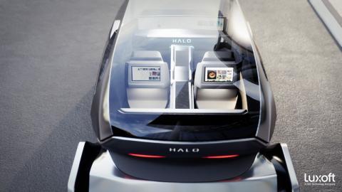 Luxoft HALO Concept teaser