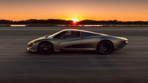 El McLaren Speedtail a 403 km/h