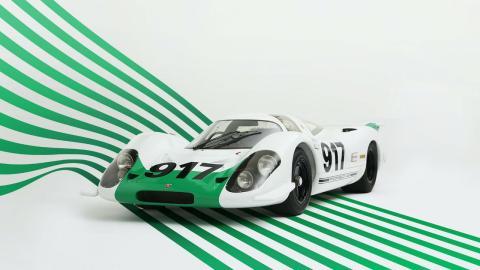 Mejores 5 pinturas de guerra de Porsche