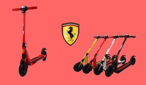 Patinete eléctrico Ferrari