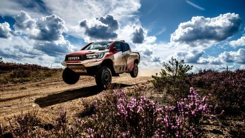 Toyota Hilux del Dakar