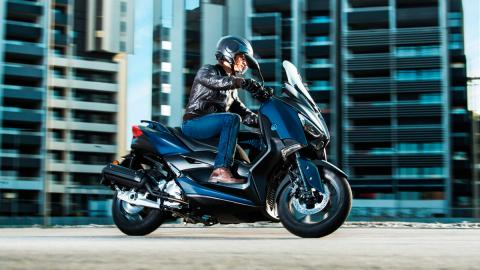 moto maxiscooter ciudad movilidad