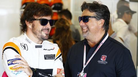 Alonso y Andretti