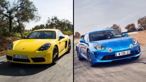 Alpine A110 vs Porsche 718 Cayman