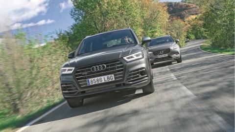 Comparativa Audi Q5 55 TFSIe vs Volvo XC60 T8