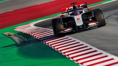 Día 2 test F1 2020