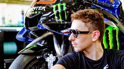 motogp test m1 moto nueva