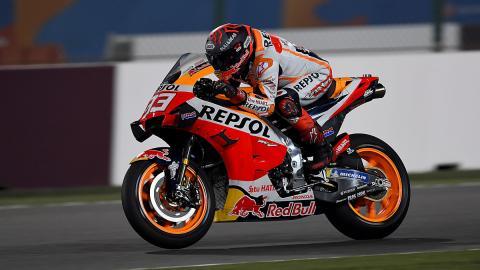 qatar circuito rc213v nueva moto
