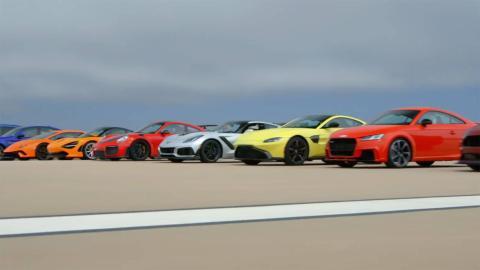Motor Trend Drag Race