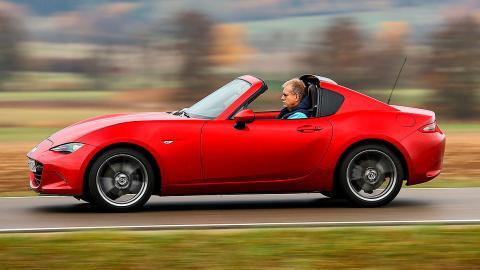 Prueba de los 100.000 km del Mazda MX-5