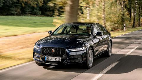 Prueba del Jaguar XE 2019