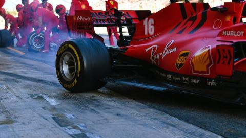 Charles Leclerc, Ferrari, test F1