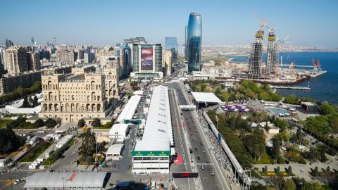 Circuito de Bakú - Azerbaiyán