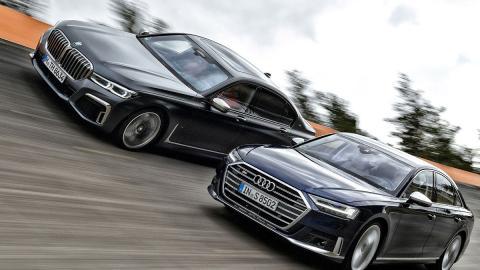 Comparativa del Audi S8 vs BMW M760Li