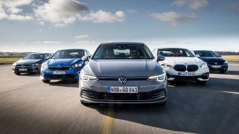 Comparativa: todos contra el Volkswagen Golf