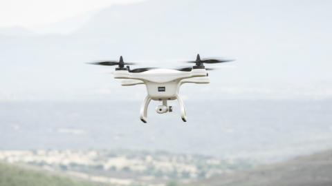 entrega de llaves con dron