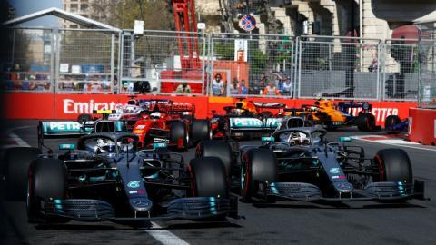F1 en Azerbaiyan