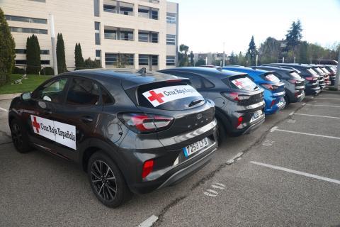 Ford cede coches a Cruz Roja