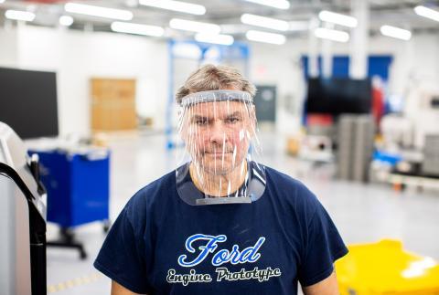Ford y FCA se unen en la lucha contra el coronavirus: fabrican mascarillas, respiradores y máscaras protectoras