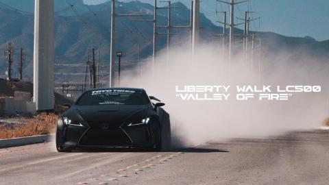 Liberty Walk LC500