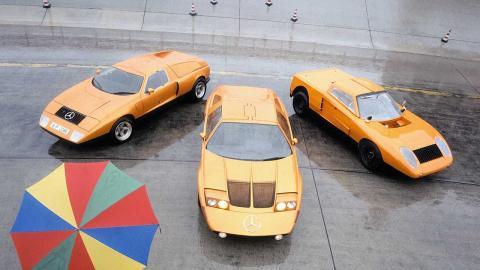 Mercedes C 111-II: 50 aniversario de su debut en el Salón de Ginebra de 1970