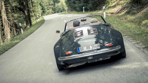 Proyecto secreto 356/930 de Porsche