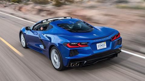 Prueba del Chevrolet Corvette C8 Stingray