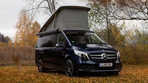Prueba del Mercedes Marco Polo 300d 2020