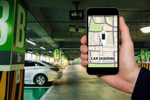 Se puede conducir un coche compartido en el estado de alarma