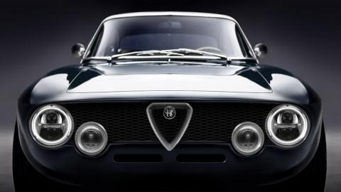 Restomod Alfa Romeo GTA eléctrico