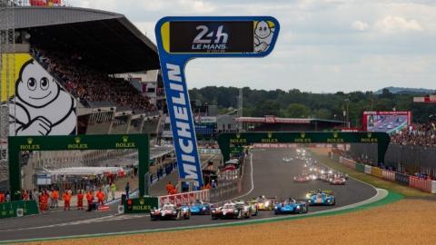 Salida de las 24 Horas de Le Mans