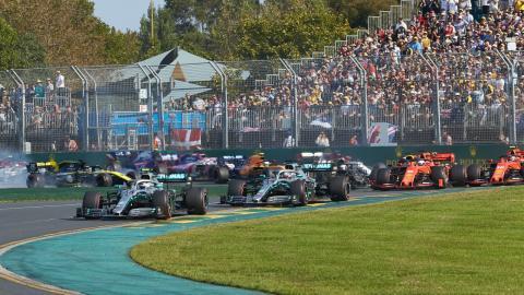 Salida GP Australia 2019