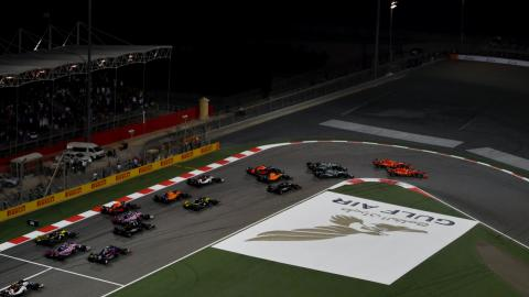 Salida GP Bahréin 2019