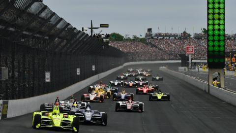 Salida Indy 500 2019