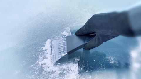 tres formas quitar hielo parabrisas sin rascar
