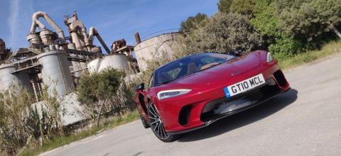 De turismo, con el McLaren GT 2020
