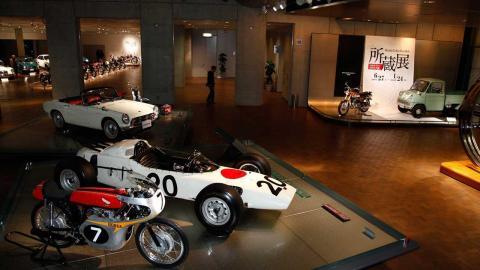 Visita virtual por el museo de Honda, el Honda Collection Hall