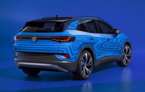 Volkswagen ID.4 trasera
