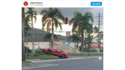 Accidente Toyota Supra