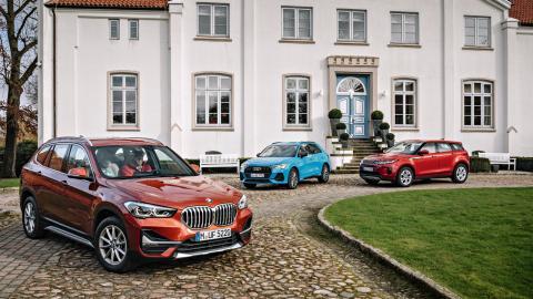 Comparativa SUV compactos premium