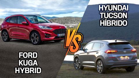 ¿Cuál es mejor, Ford Kuga Hybrid o Hyundai Tucson híbrido?