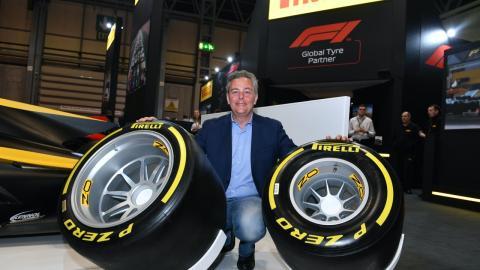 Mario Isola, director de Pirelli Motorsport