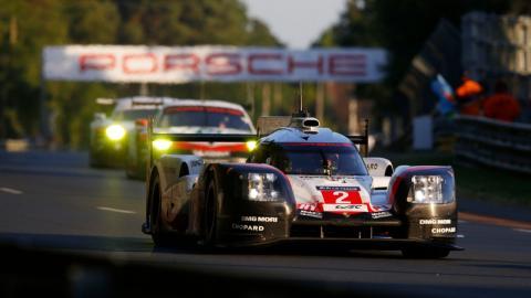 Porsche en las 24 Horas de Le Mans 2017