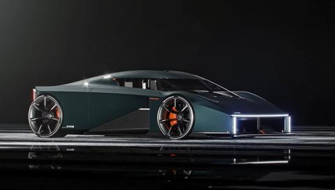 Raw by Koenigsegg deportivo 700 CV y tres asientos
