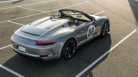 Subasta Porsche 911 Speedster coronavirus